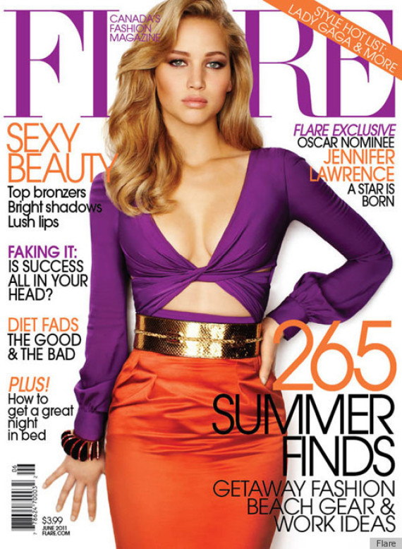 Jennifer lawrences photoshop job on flare cover makes the internet j law thecheapjerseys Choice Image