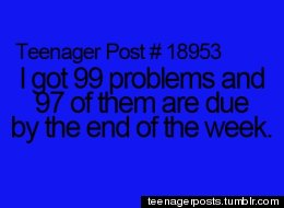 Teenager Posts Of The Week!