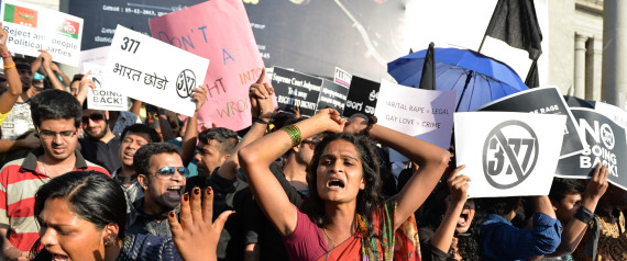 INDIA PROTEST GAY