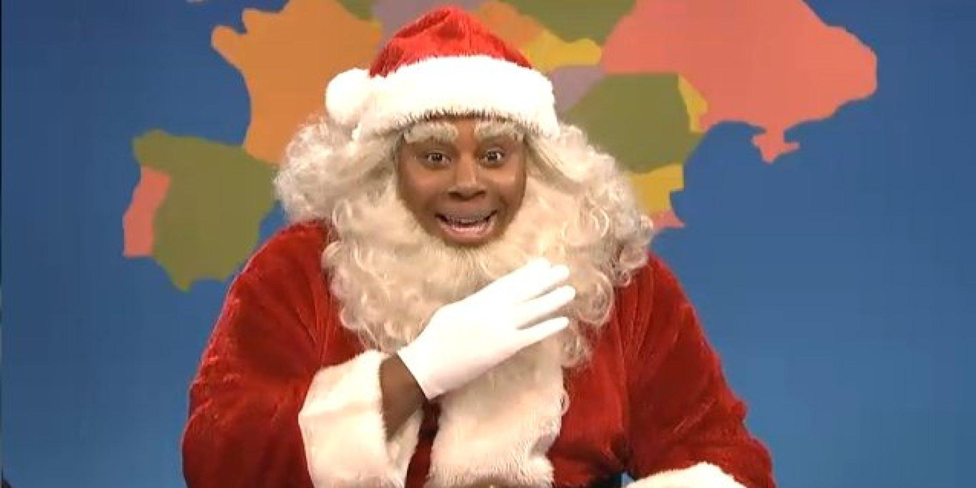Santa claus is black as hell sorry megyn kelly