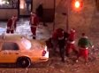 Street-Fighting Santas Brawl In New York After SantaCon 2013, Earn Spots On 'Naughty' List