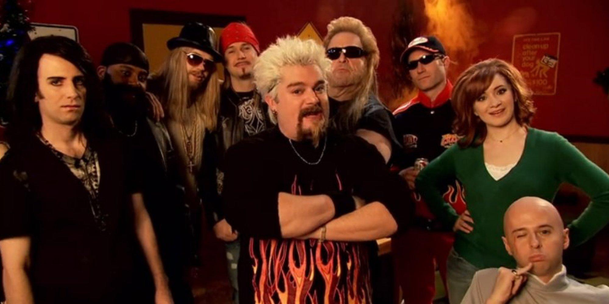 Guy Fieri's Full Throttle Christmas Special - SNL - YouTube