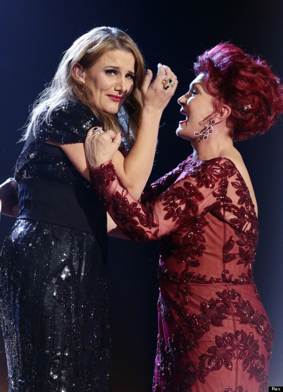 X Factor Judges 2011 Sam Bailey Crowned Win...