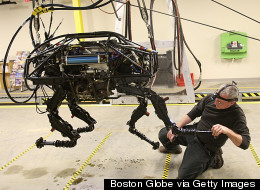 Google Buys Military Robot Firm Responsible For These Crazy Androids...