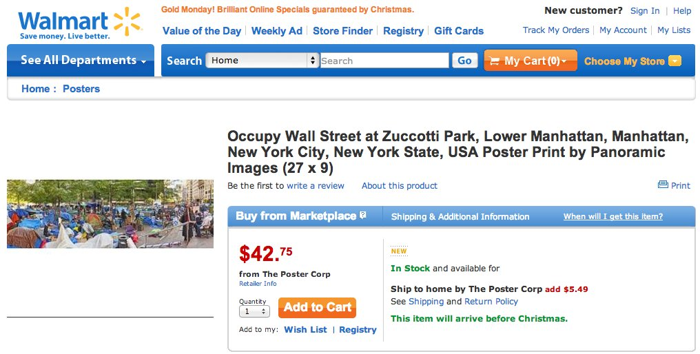 walmart occupy wall street