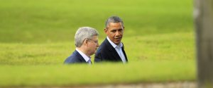 Barack Obama Stephen Harper