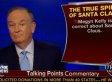 Bill O'Reilly: Santa Is White
