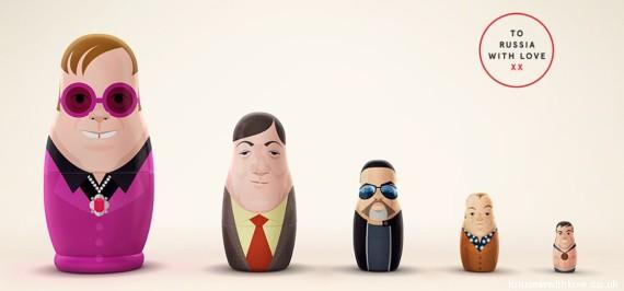icones gays russie