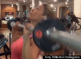 WATCH: Amy Willerton Gives Us Some Gymspiration