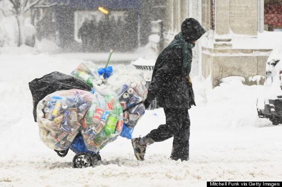 homeless winter