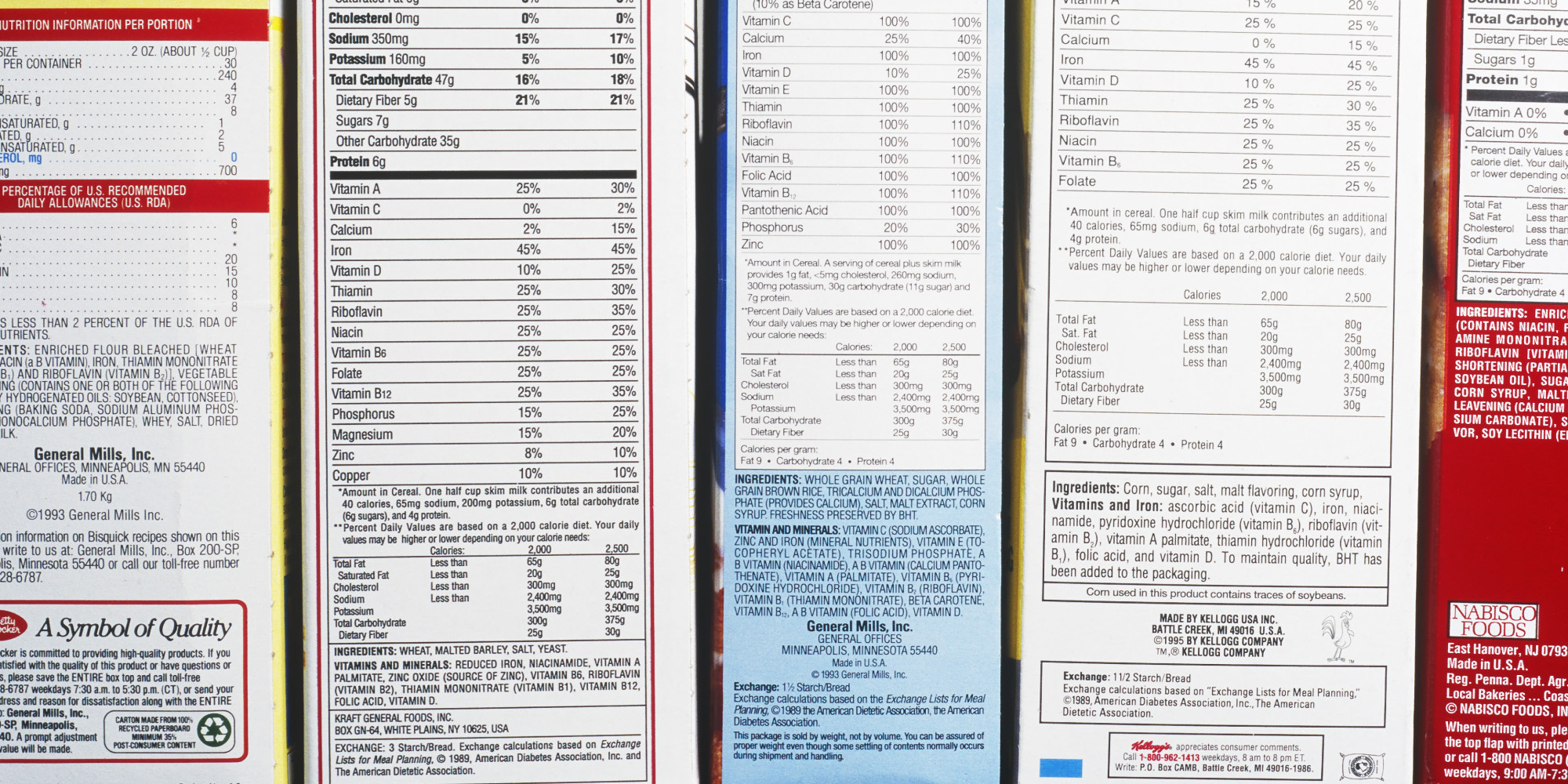 As Food Labels Get Closer Look, Ingredients Vanish