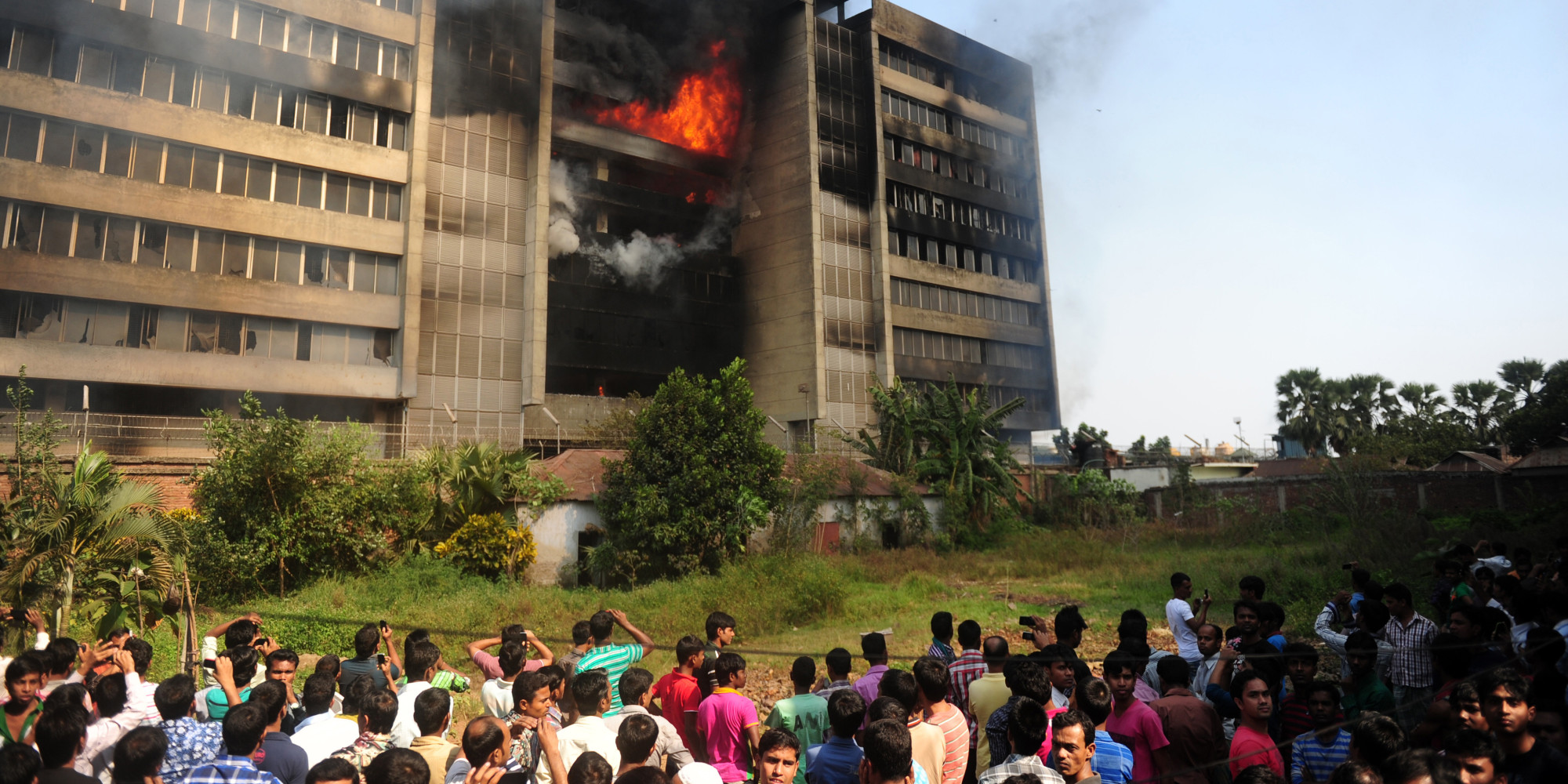 Another Factory Fire in Bangladesh: This Time, a Product of Rage | HuffPost