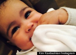Did Kim Kardashian Wax Her Daughter's Eyebrows?