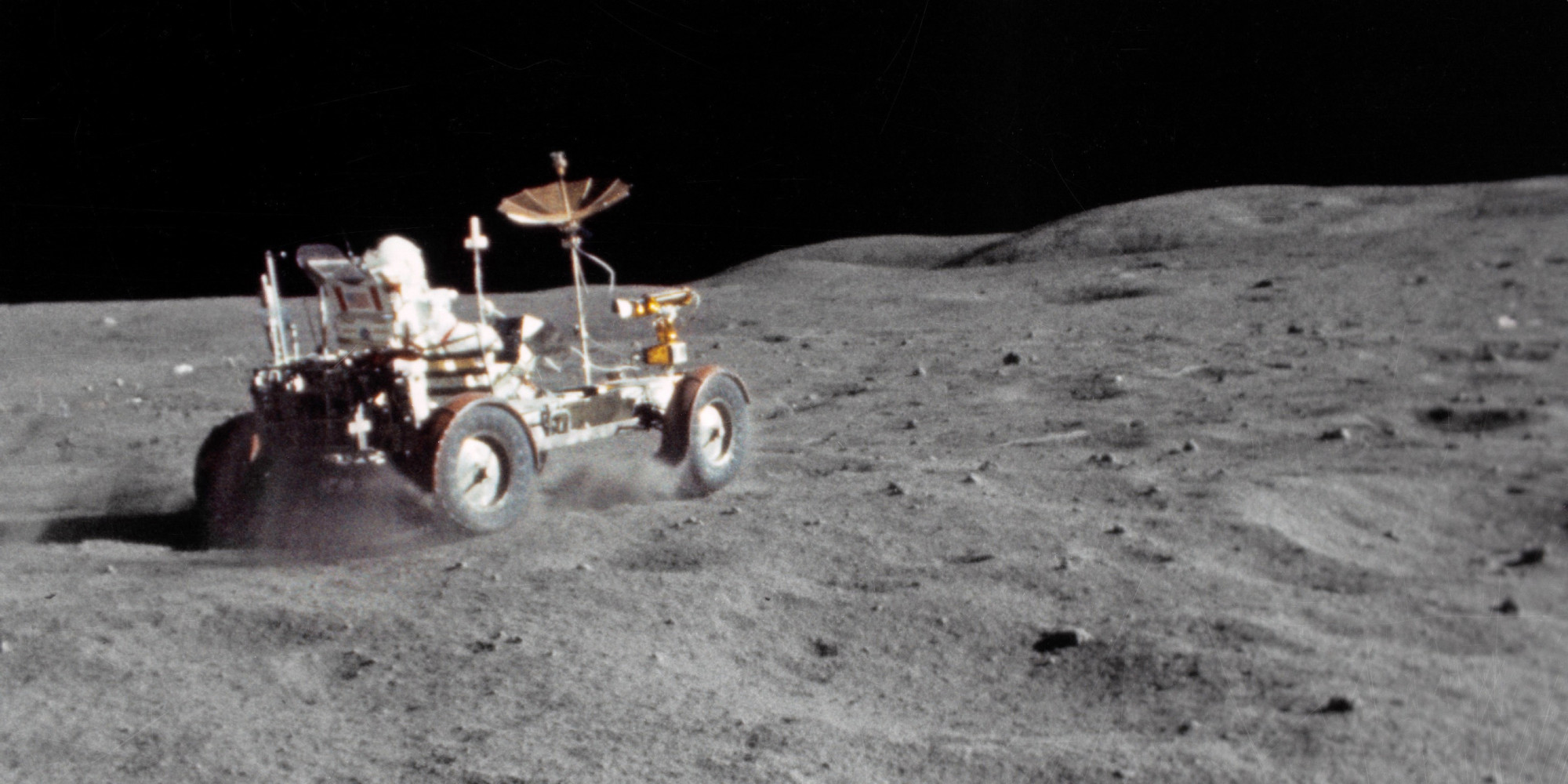 Remastered, Stabilised Apollo 16 Footage Of The Lunar ...