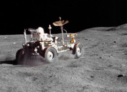remastered lunar rover footage
