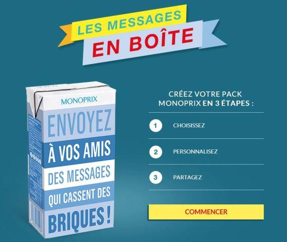 messages en boite