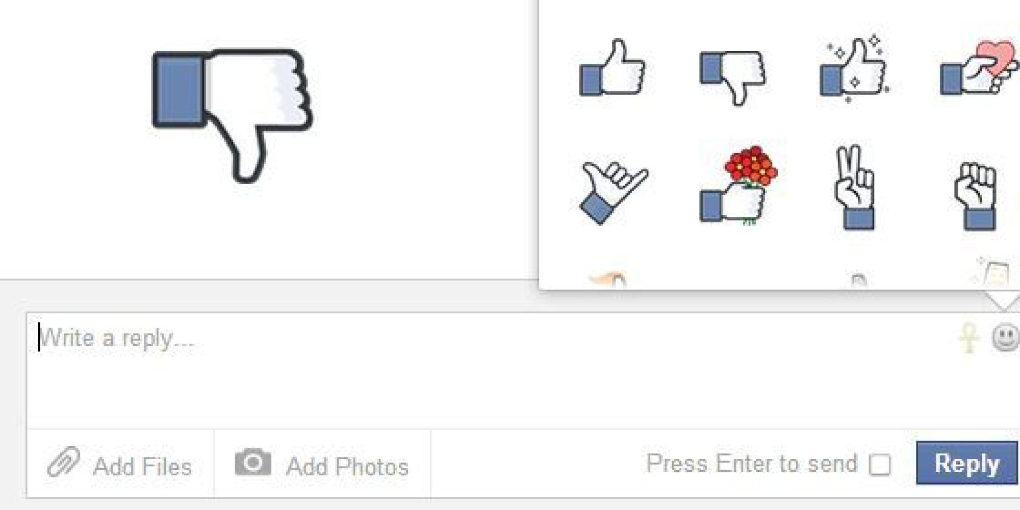 comment mettre j'aime pas sur facebook