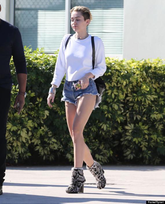miley cyrus shorts