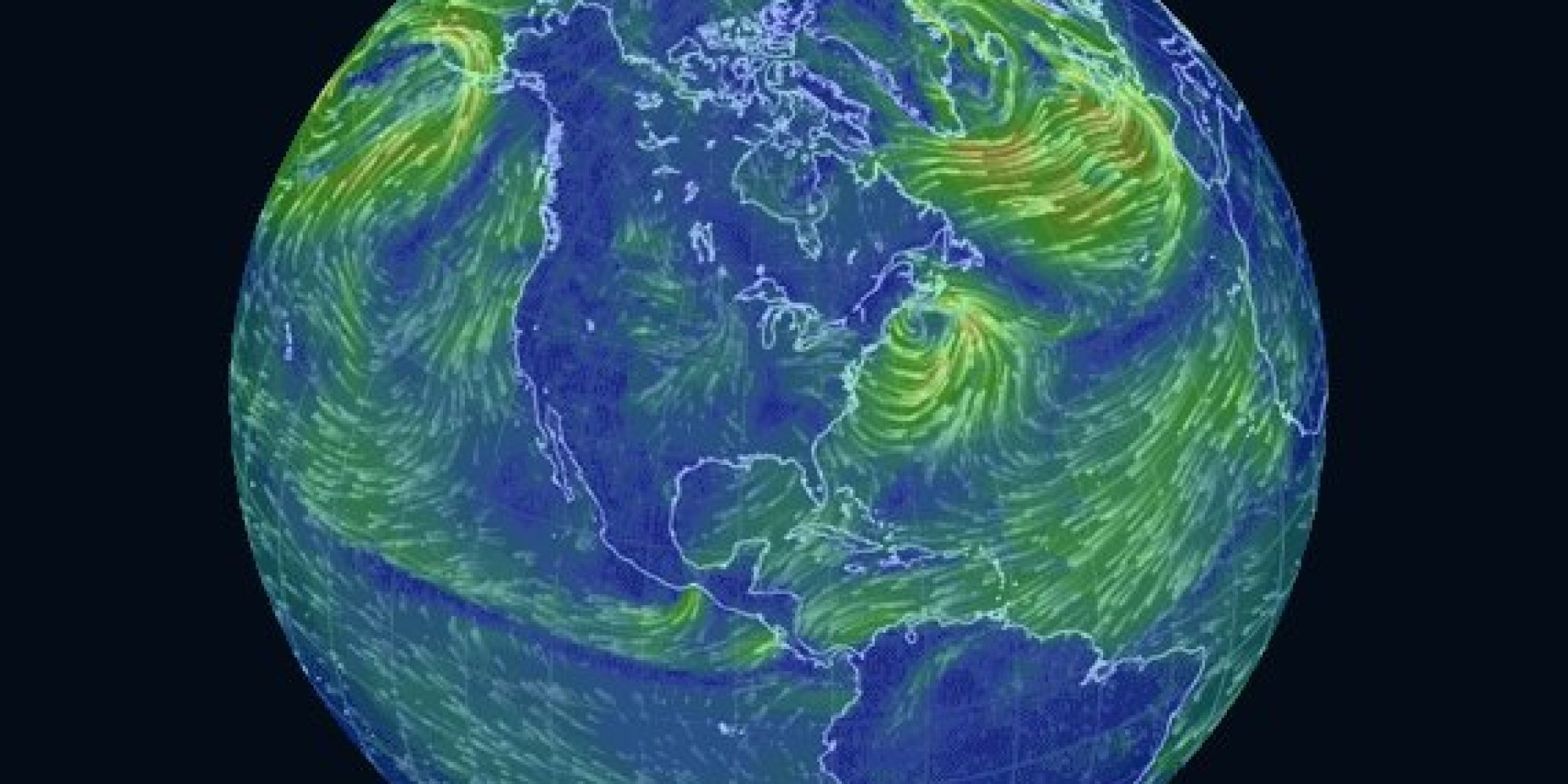 This Trippy Map Of Global Wind Patterns Is A Massive Time Suck – Live Global Map