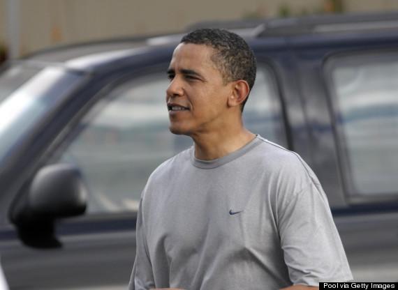 obama exercise hawaii
