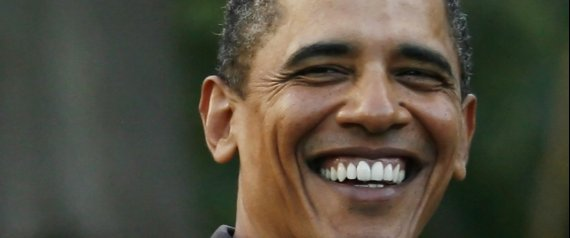 OBAMA HAWAII SMILE