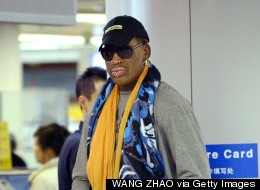 Rodman Back In North Korea For Visit With His Buddy