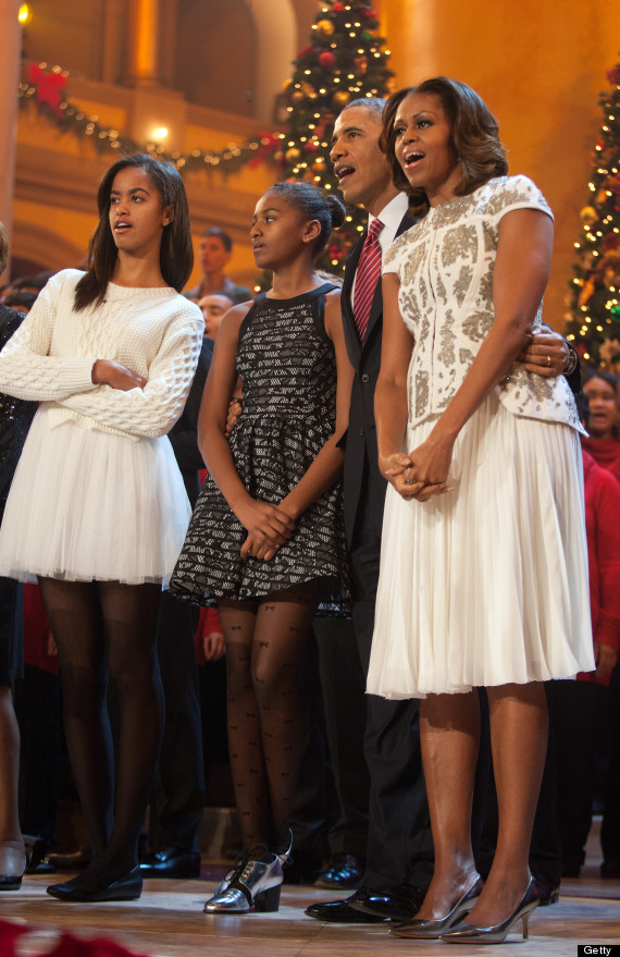 malia obama christmas dress