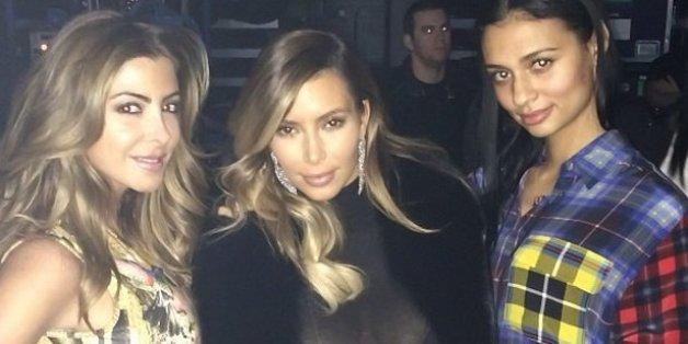 ff3f6e57278 Kim Kardashian Cleavage