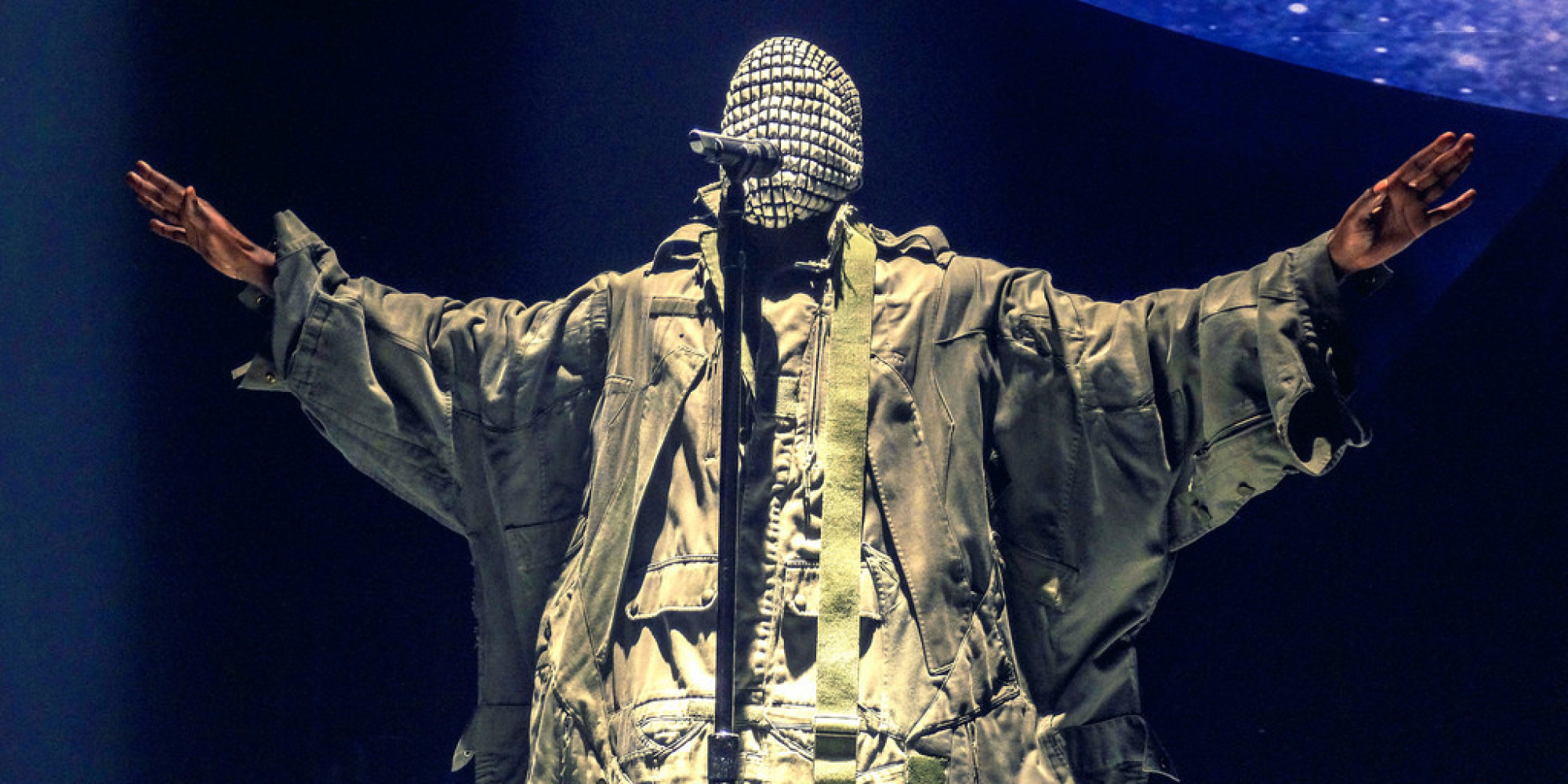 Kanye West At United Center: 'Yeezus' Tour Comes To ... Kanye West Yeezus Concert