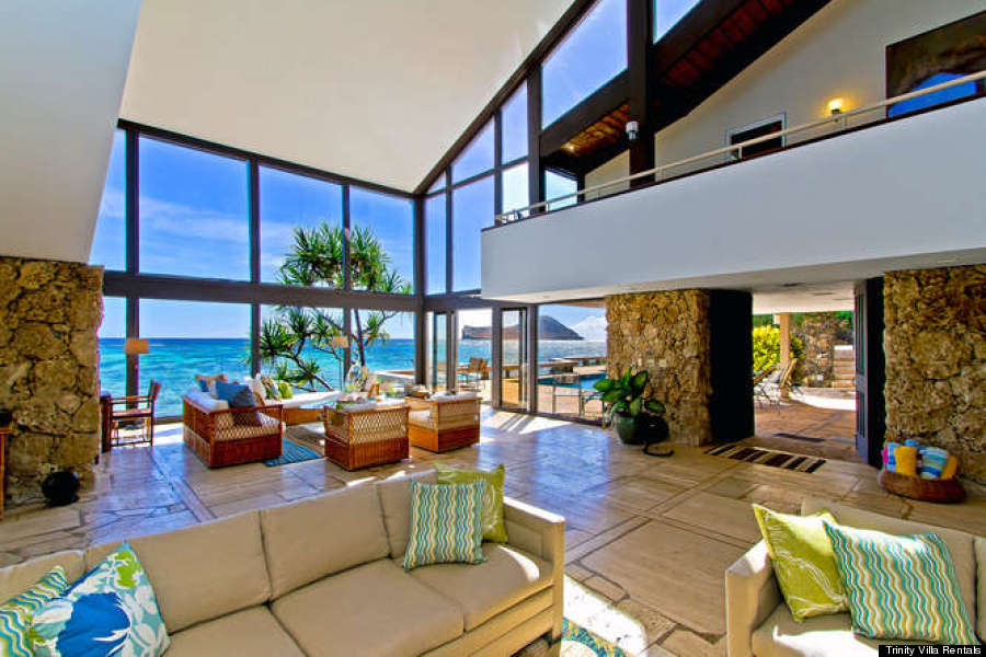 Obama 39 s hawaii vacation home and the luxury rentals of for Hawaii townhomes for rent