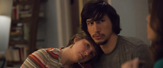LENA DUNHAM ADAM DRIVER GIRLS SEASON 3
