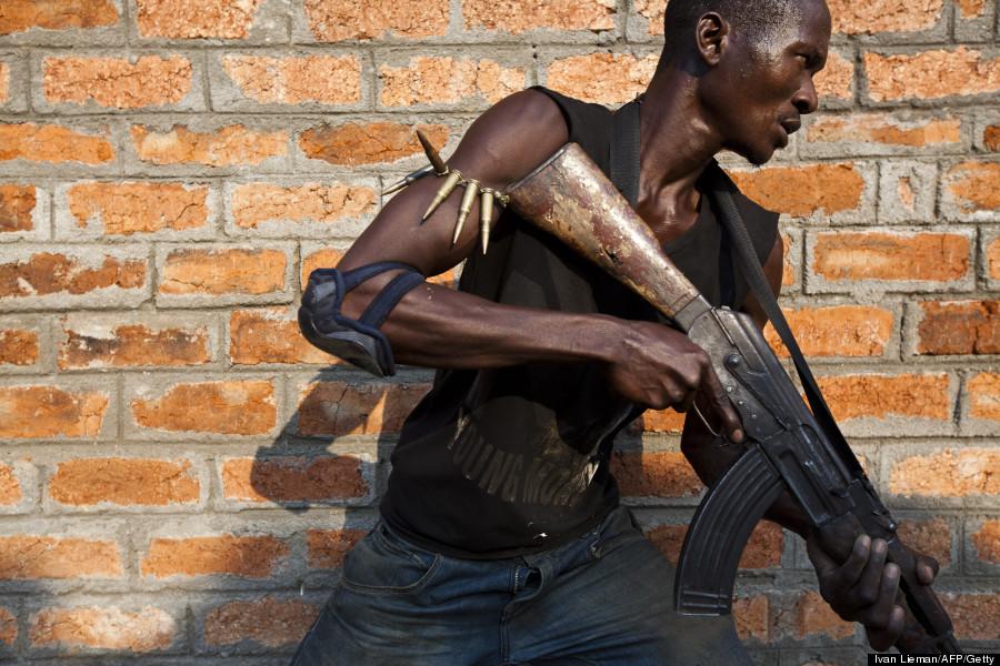 anti balaka militiamen