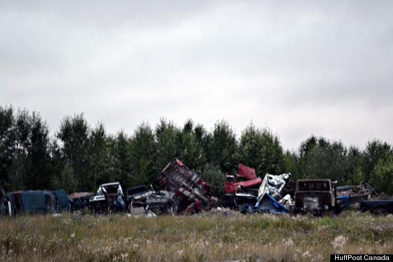 webequie junk yard