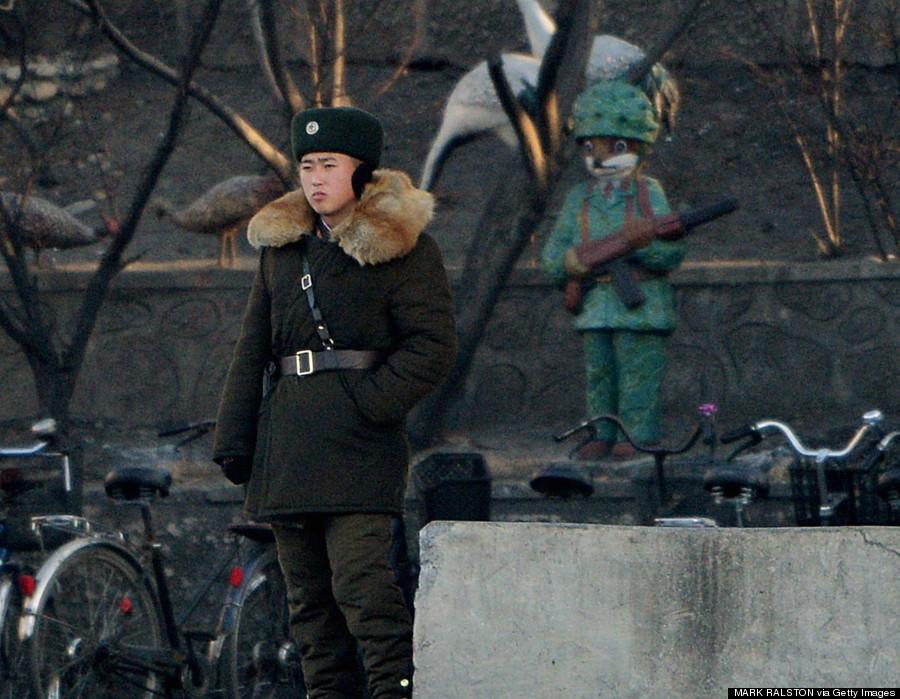 north korea yalu