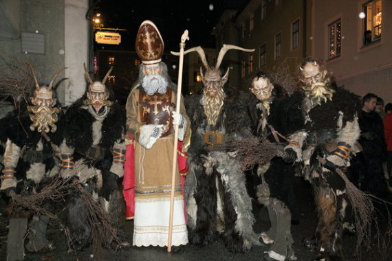 saint nicholas and krampus