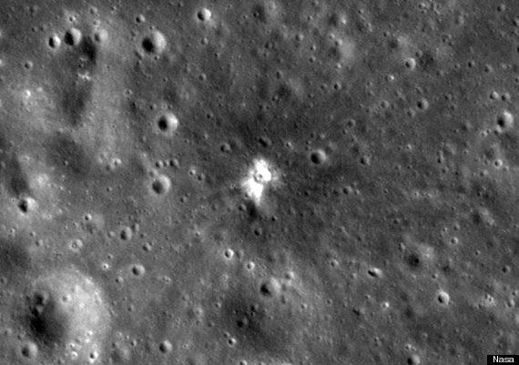 Nouveau cratère d'impact sur la Lune ! O-NASA-570