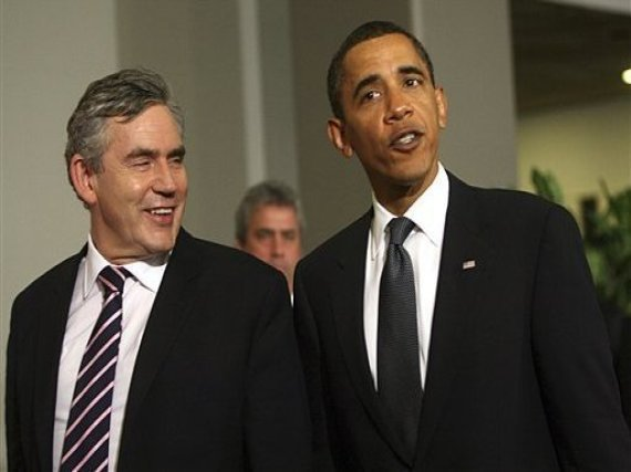 Special Relationship Gordon Brown Barack Obama