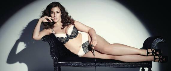 Elle Plus Size Model Ashley Graham Plus-size Model