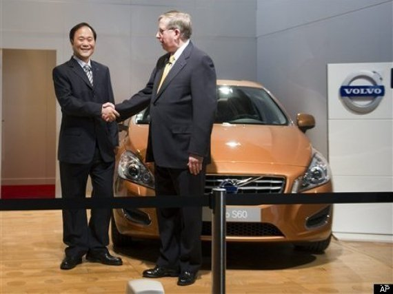 Volvo China Ford