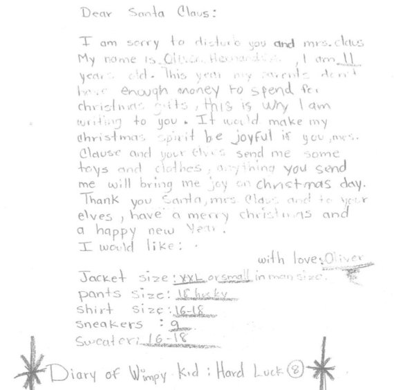 New york post office has 50000 santa letters to fulfill for needy santa letter thecheapjerseys Images