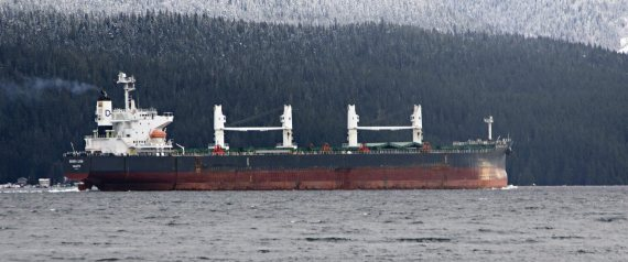 OIL TANKER BRITISH COLUMBIA