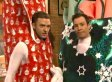 'SNL' Duo Jimmy Fallon & Justin Timberlake Bring It On Down To 'Wrappinville'
