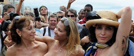 brasil topless fotos