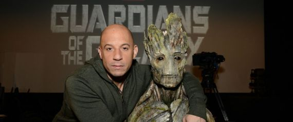vin diesel guardians of the galaxy