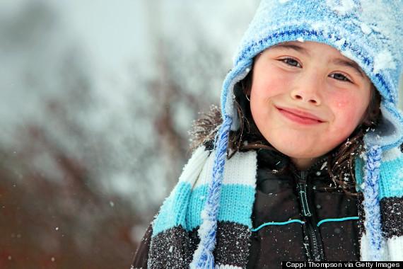 new england winter children