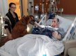 Cancer Patient Mike Petrosino Says Final Goodbye To Beloved Dog Rusty (PICTURE)