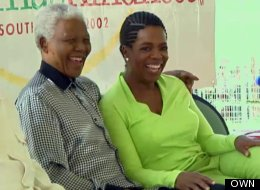 From The 'Oprah Show' Vault: Mandela's Christmas Surprise