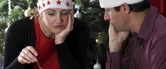 CHRISTMAS COUPLE SAD