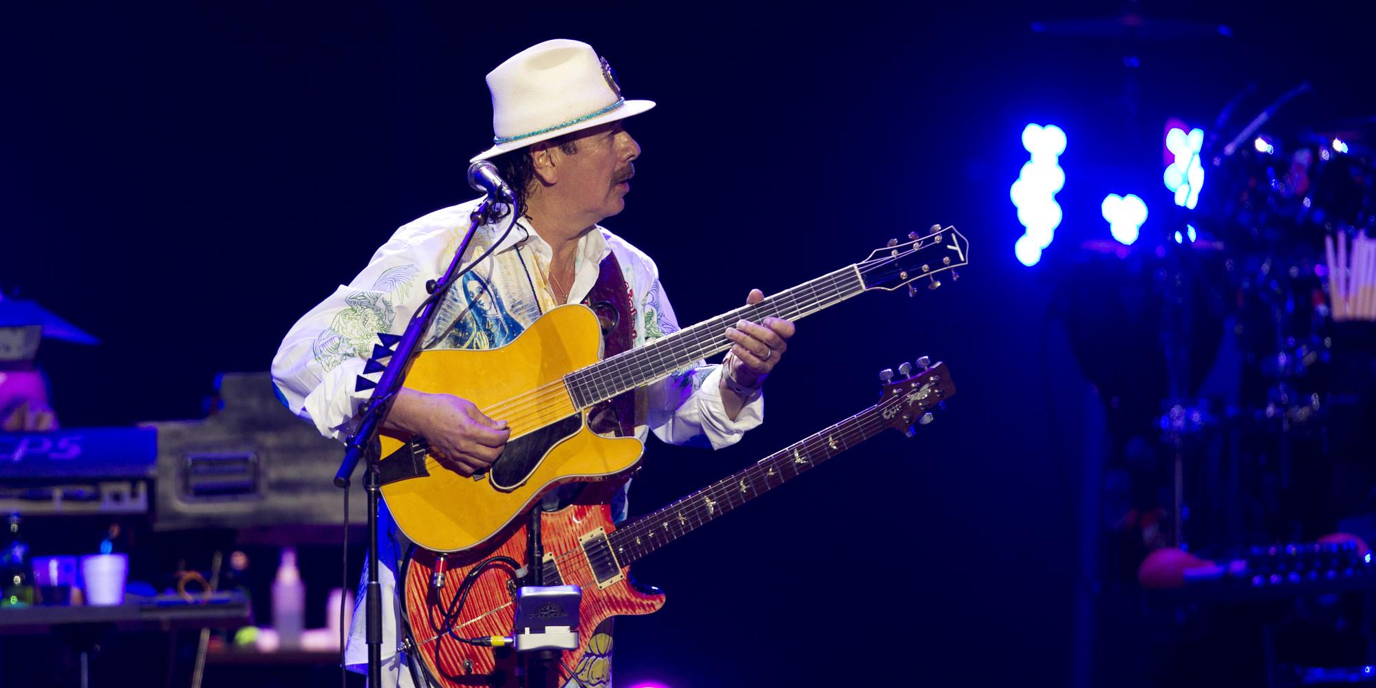 Carlos Santa... Santana Live