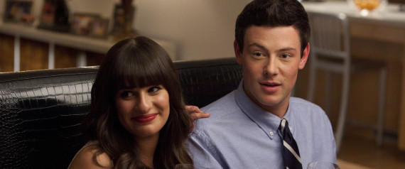RACHEL AND FINN GLEE